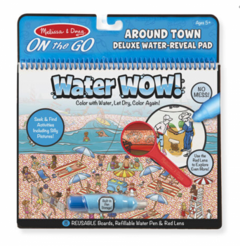Water Wow! Water Reveal Pad - Around Town
