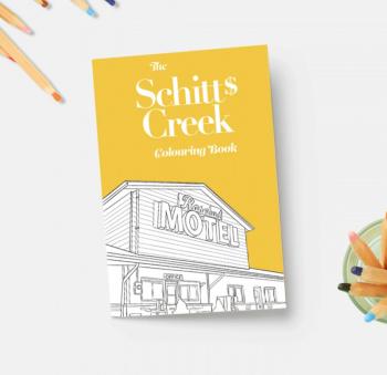 Schitt's Creek Coloring Book