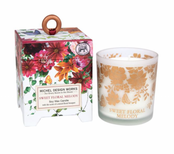 'Sweet Floral Melody' Soy Wax Candle