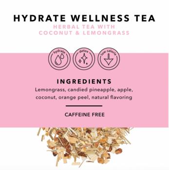 Loose Leaf Tea - Hydrate (Coconut & Lemongrass)