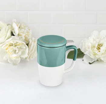 Tea Mug & Infuser - Delia Good Morning Gorgeous