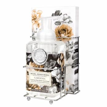 'Gardenia' Foaming Soap Napkin Set