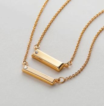 Bryan Anthonys Necklace Set - Through Thick & Thin (Gold)