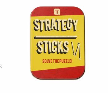 Strategy Sticks - Tin Game