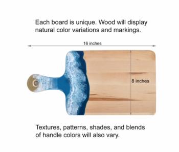 Bamboo and Resin Cutting Board