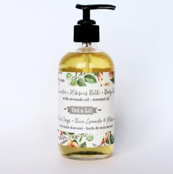 Lavender & Hibiscus Bath & Body Oil