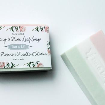 Peony & Olive Leaf Bar Soap