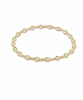 enewton Serenity Gold Beaded Bracelet - 4mm
