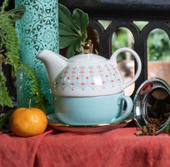 Addison Arabesque Tea for One Set