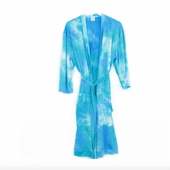 Dyes The Limit Lounge Robe - Aqua