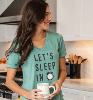 Sleep Shirt - Let's Sleep In