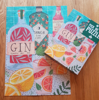 Gin Jigsaw Puzzle - 500 pieces