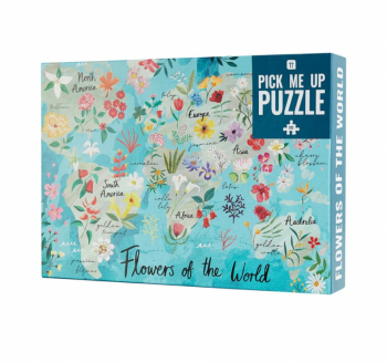 Flowers Of The World Jigsaw Puzzle - 500 Pieces