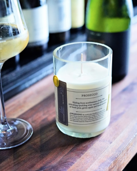 Prosecco Candle by Rewined
