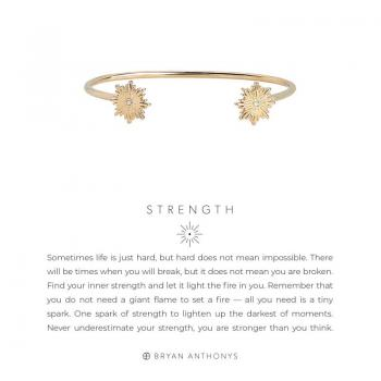 Bryan Anthonys Strength Cuff (Gold)