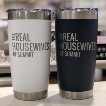 Real Housewives of Summit - 16 oz Tumbler (White/Navy)