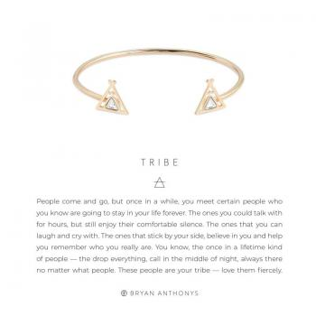 Bryan Anthonys Tribe Friendship Cuff (Gold)