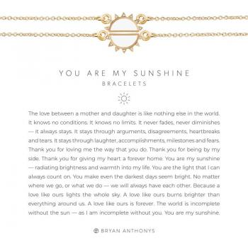 Bryan Anthonys You Are My Sunshine Bracelets (Gold)