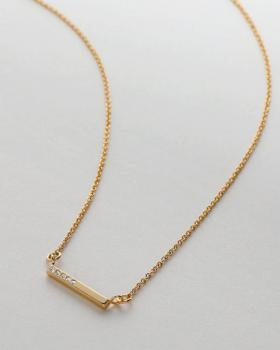 Bryan Anthonys Necklace - Blank Slate (Gold)