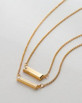 Bryan Anthonys Necklace - Through Thick & Thin (Gold)