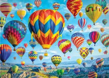 Balloons in Flight Jigsaw Puzzle