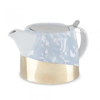 Harper Blue Floral Ceramic Teapot & Infuser