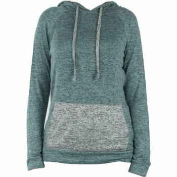 Hello Mello Carefree Hooded Top - Blue/Grey