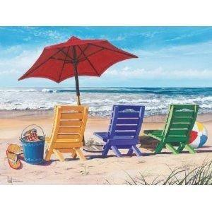 Beachy Keen - Jigsaw Puzzle - 550 Pieces