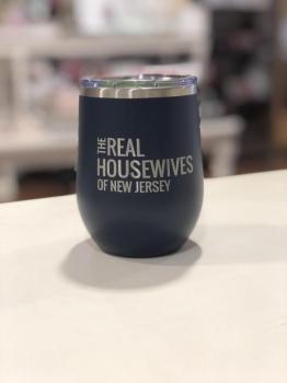 Real Housewives of New Jersey - 12 oz Tumbler Navy