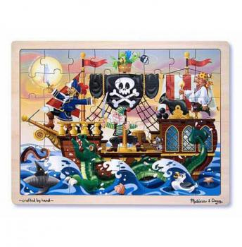 Pirate Wooden Jigsaw Puzzle