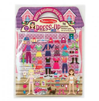 Puffy Sticker Play Set - Dress-up Assortment