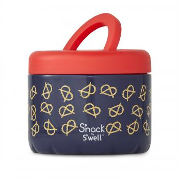 S'nack X S'well Pretzels Food Container