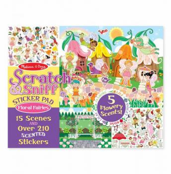 Scratch and Sniff Sticker Pad: Floral Fairies
