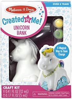 Melissa & Doug Created by Me Unicorn Bank