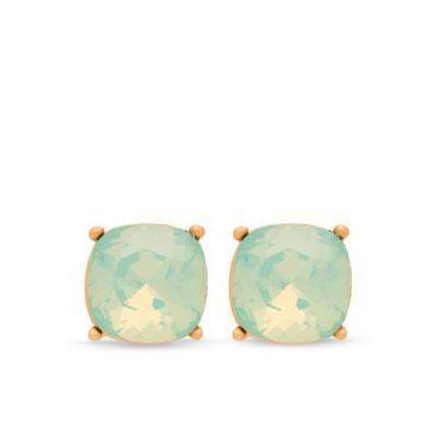 Spartina 449 Yellow 18K Gold-Plated Sea La Vie Be Happy Stud Earrings