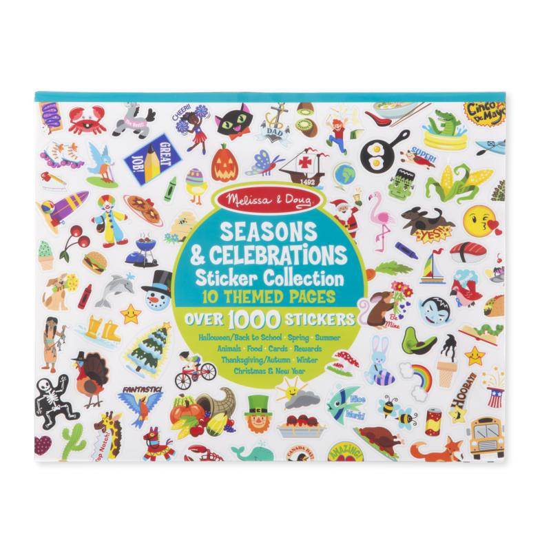 Sticker Collection Book -Seasons and Celebrations