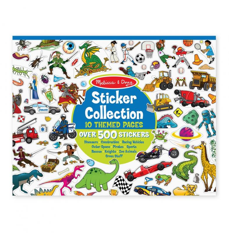 Sticker Collection Book