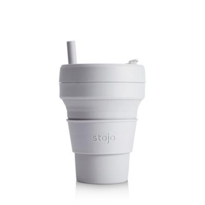 Stojo Collapsible Cup - 16 oz Grey