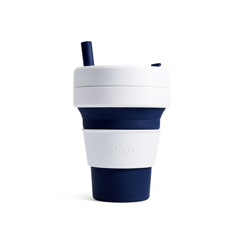 Stojo Collapsible Cup 16 oz Navy