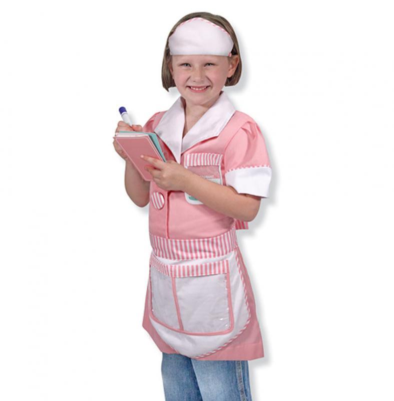 Waitress Kid's Costume