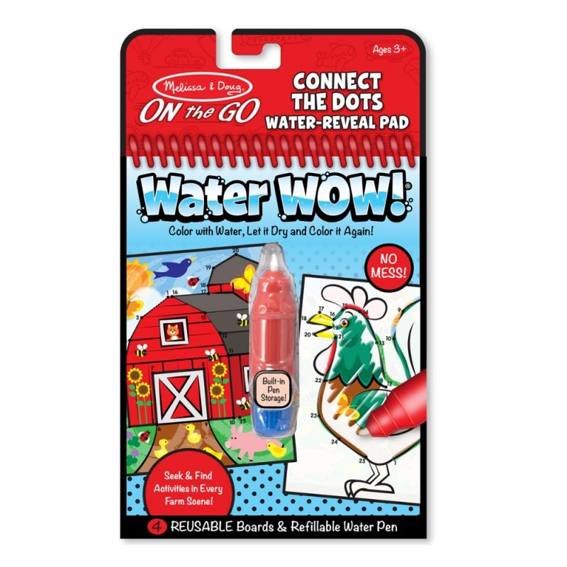 Water Wow Connect the Dots Water Reveal Pad
