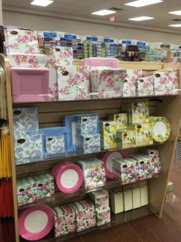 Paper Products Including Decorative Plates & Napkins