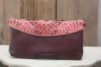 Zip Detail Evening Bag