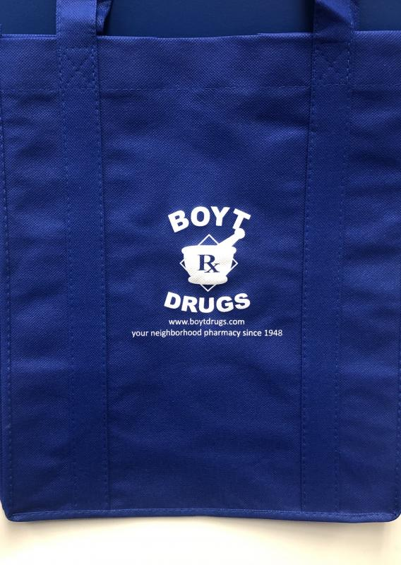 Boyt Drugs Reusable Shoppers Bag