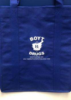 Boyt Drugs Reusable Shoppers Bag