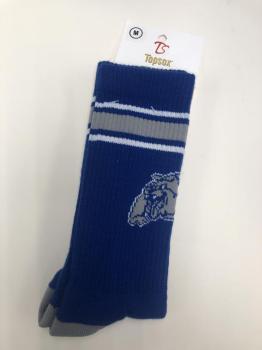 Metuchen Bulldogs Crew Socks