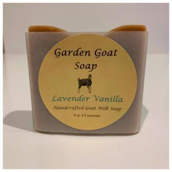 Goat Milk Soap-Lav Vanilla