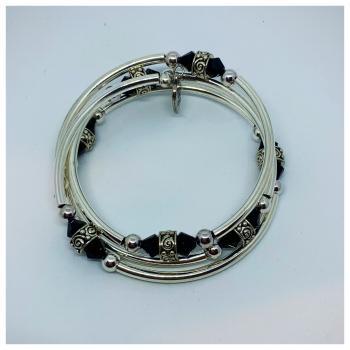 Sisters Onyx Bracelet