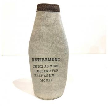 Military Canvas Beer Koozie