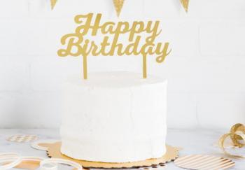 Nikisha's Birthday Cake Topper